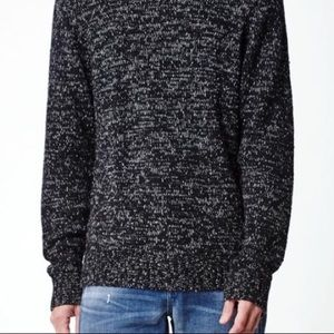 Modern Amuesment Marled Cable Knit Sweater